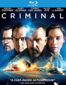 Criminal (4K Ultra HD + Blu-ray + UltraViolet) Blu-ray