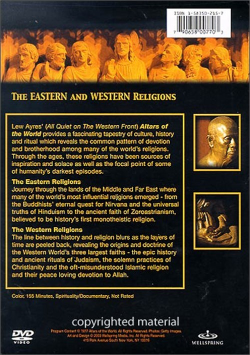 the primal religions and the eastern and western religions Primal religions number in the thousands and most were characterized by belief in a world other than, or beyond, physical life, a place or time (in aborigine, dreamtime) of a different, often greater, reality than that of the physical world.