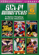 Sci-Fi Monsters (6 DVD Box Set) (Alpha) Movie