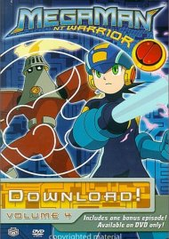 Megaman NT Warrior: Volume 4 - Download! Movie
