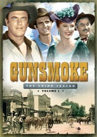 Gunsmoke: The Third Season - Volume One Movie