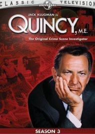 Quincy, M.E.: Season 3 Movie