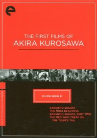 First Four Films Of Akira Kurosawa, The: Eclipse From The Criterion Collection Movie