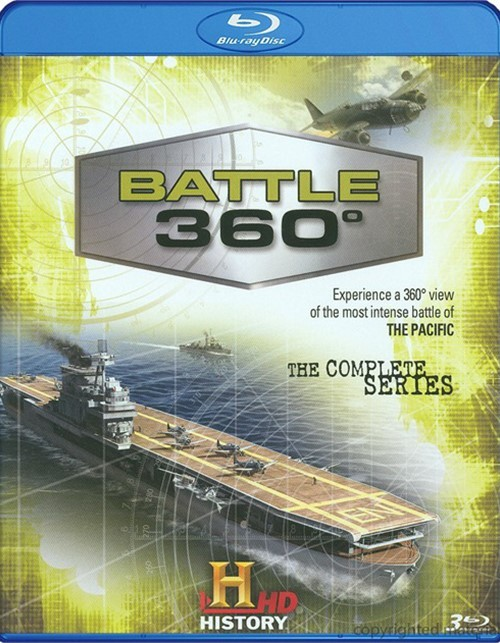 Battle 360: The Complete Season 1 Blu-ray