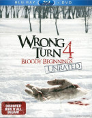 Wrong Turn 4: Bloody Beginnings (Blu-ray + DVD Combo) Blu-ray