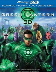 Green Lantern 3D (Blu-ray 3D + Blu-ray + DVD + Digital Copy) Blu-ray
