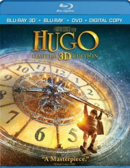 Hugo 3D (Blu-ray 3D + Blu-ray + DVD + Digital Copy) Blu-ray