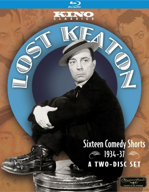 Lost Keaton: Sixteen Comedy Shorts 1934 - 37 Blu-ray