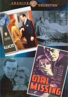 Illicit / Girl Missing (Double Feature) Movie