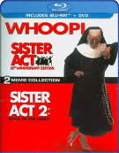 Sister Act: 20th Anniversary Edition - Two Movie Collection (Blu-ray + DVD Combo) Blu-ray