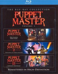 Puppet Master: 3 Movie Collection Blu-ray