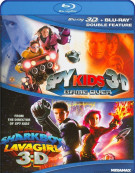 Spy Kids 3D / The Adventures Of Sharkboy And Lavagirl 3D (Double Feature) Blu-ray