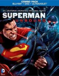 Superman: Unbound (Blu-ray + DVD + UltraViolet) Blu-ray