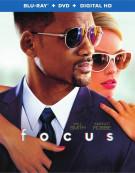 Focus (Blu-ray + DVD + UltraViolet) Blu-ray