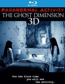 Paranormal Activity: The Ghost Dimension (Blu-ray 3D + Blu-ray + DVD + UltraViolet) Blu-ray