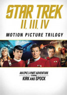 Star Trek: Motion Picture Trilogy (Repackage) Movie