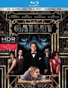 Great Gatsby, The (4K Ultra HD + Blu-ray + UltraViolet) Blu-ray