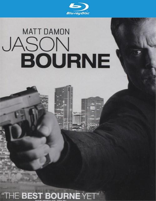Jason Bourne (4K Ultra HD + Blu-ray + UltraViolet) Blu-ray