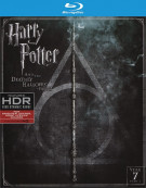 Harry Potter and the Deathly Hallows: Part 2 (4K Ultra HD + Blu-ray + UltraViolet)  Blu-ray