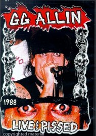 GG Allin: Live & Pissed 1988 Movie