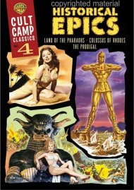 Cult Camp Classics: Volume 4 - Historical Epics Movie