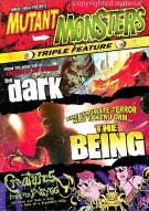 Mutant Monsters Triple Pack: The Being/The Dark/Creatures From The Abyss Movie
