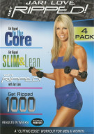 Get Ripped! With Jari Love 4 Pack Movie