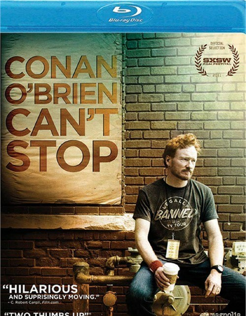 Conan OBrien Cant Stop Blu-ray