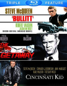 Bullitt / The Cincinnati Kid / The Getaway (Triple Feature) Blu-ray