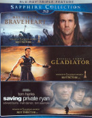 Braveheart / Gladiator / Saving Private Ryan (The Sapphire Collection) Blu-ray