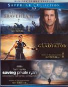 Braveheart / Gladiator / Saving Private Ryan (The Sapphire Collection) Blu-ray
