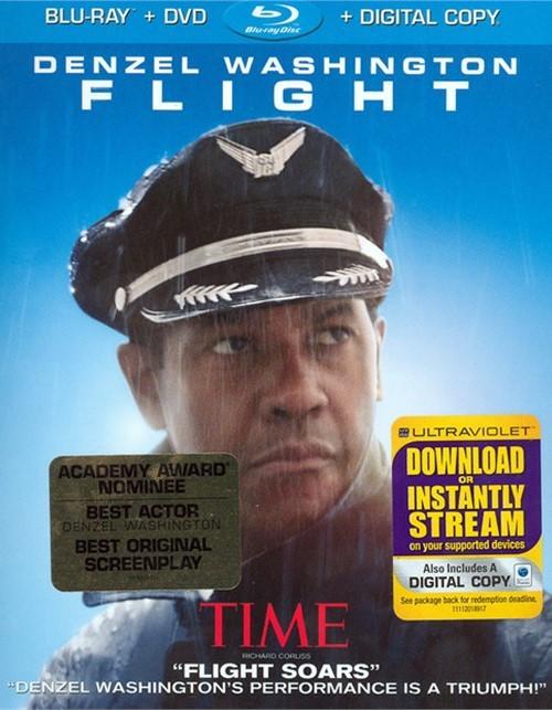 Flight (Blu-ray + DVD + Digital Copy) Blu-ray