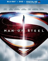 Man Of Steel (Blu-ray + DVD + Ultraviolet) Blu-ray