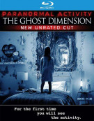 Paranormal Activity: The Ghost Dimension (Blu-ray + DVD + UltraViolet) Blu-ray
