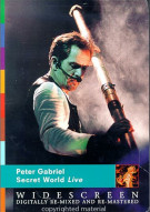 Peter Gabriel: Secret World Live  Movie