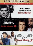 Lethal Weapon / Lethal Weapon 2 / Lethal Weapon 3: Directors Cut (Triple Feature) Movie
