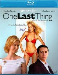 One Last Thing... Blu-ray