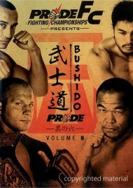 Pride FC: Bushido Volume 6 Movie