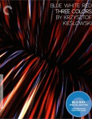 Three Colors: Blue, White And Red - The Criterion Collection Blu-ray