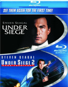 Under Siege / Under Siege 2: Dark Territory (Double Feature) Blu-ray