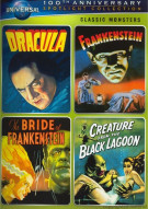 Classic Monsters Spotlight Collection (Dracula / Frankenstein / The Bride of Frankenstein / Creature from the Black Lagoon) Movie