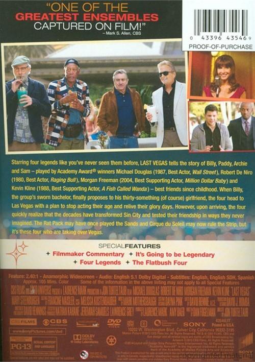 Last Vegas Dvd: Last Vegas (DVD 2013)