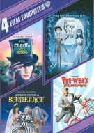 4 Film Favorites: Tim Burton Collection Movie