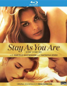 Stay As You Are Blu-ray