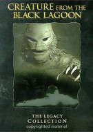 Creature From The Black Lagoon, The: The Legacy Collection Movie