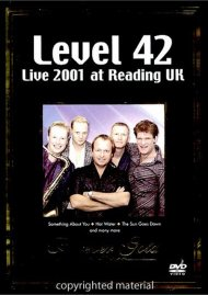 Forever Gold: Level 42 - Live 2001 At Reading UK Movie