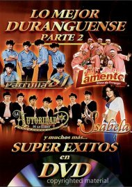 Lo Mejor Duranguense Part 2: Super Exitos En DVD Movie