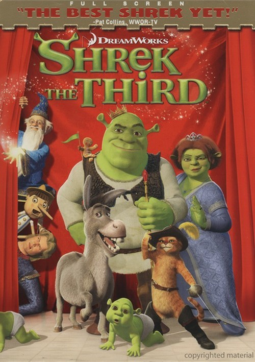 Shrek The Third (Fullscreen) Movie