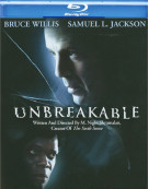 Unbreakable Blu-ray