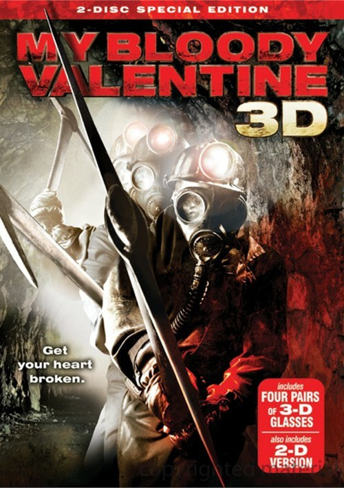My Bloody Valentine 3D: 2 Disc Special Edition Movie